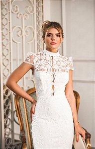 Vestido Midi Doce Maria Cristal