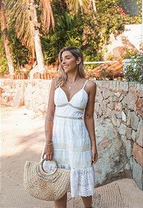 Vestido Curto Doce Maria Branco