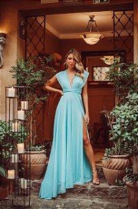 Vestido em lurex Mil Forma Tiffany