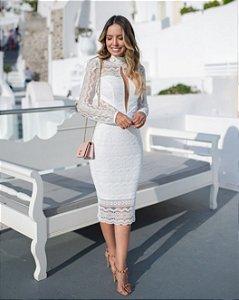 Vestido Midi Doce Maria Classic