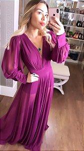 Vestido Monalisa Fucsia