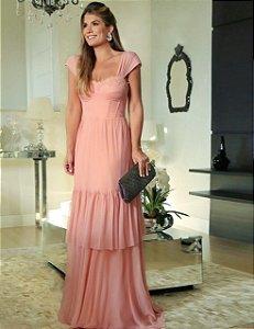 Vestido Longo Rose Moriah