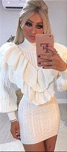 Blusa em Tricot luxo Vitória
