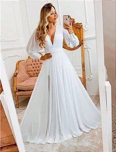 Vestido Monalisa Branco 3 em 1