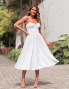 Vestido Midi Lady Like Lorena