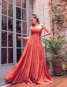 Vestido longo Tomara que caia Luana