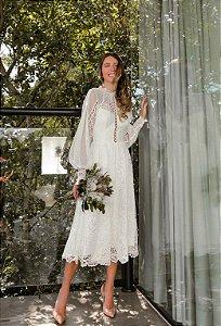 Vestido Midi Doce Maria Sophia
