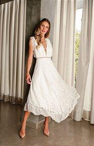 Vestido Midi Doce Maria Gabrielle