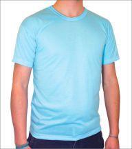 Camisa Azul Bebê Personalizada
