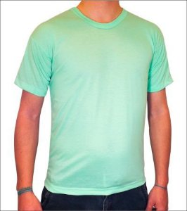 Camisa Verde Claro Personalizada