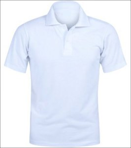 Gola Polo Branca Personalizada