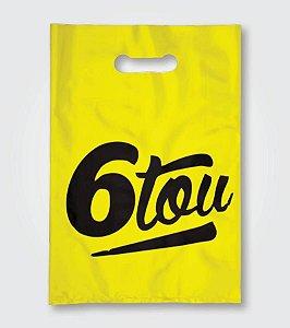 Sacolas Amarelas Personalizadas