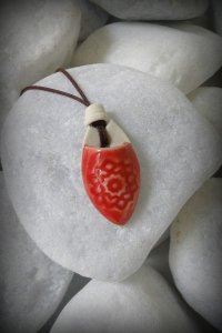 Mandala- difusor de aroma pessoal - Vermelho