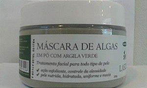 Máscara de Algas c/ argila verde
