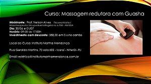 Curso: Massagem redutora com Guasha