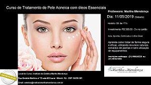 Inscrição: Curso de Tratamento de pele Acneica com óleos essenciais