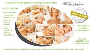 Massagem Reabilitativa Terapêutica e Modeladora