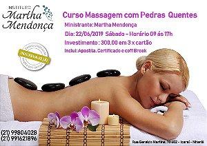 Curso de  Massagens com Pedras Quentes