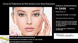 Curso de Limpeza de pele e tratamento de acne com óleos essenciais