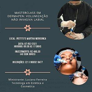 MasterClass em Dermapen: Volumização não Invasiva Labial