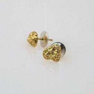Brincos Mini PEPITA em Ouro 18k | Sob Medida