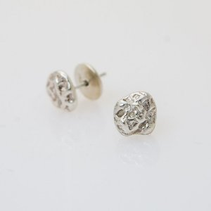 Brincos Mini PEPITA em Prata 950 | Sob Medida