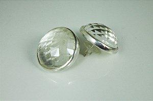 Brincos Discoball de Cristal | Sob Medida