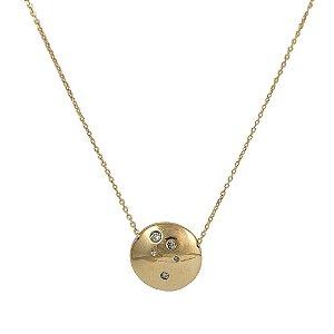 Colar Sparkle em Ouro 18k e Diamantes | Sob Medida