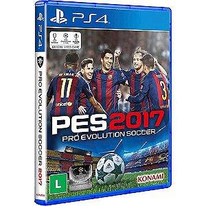 Pro Evolution Soccer 2017 - PS4 Dublado em Português