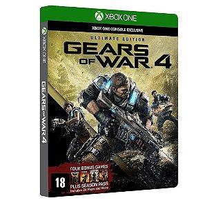Gears Of War 4 Ultimate Edition Xbox One Edição Colecionador