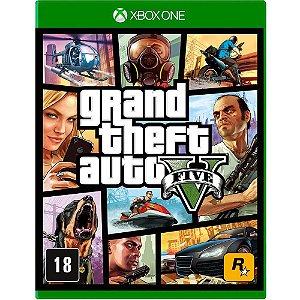 Game Gta 5 - Grand Theft Auto V - Xbox One
