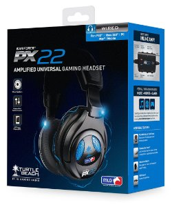 Fone De Ouvido / Headset Ear Force Px22 (Turtle Beach) - Ps4 / Ps3 / Xbox 360 / Pc / Mac