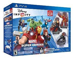 Disney Infinity: Marvel Super Heroes 2.0 Edition Starter Ps4