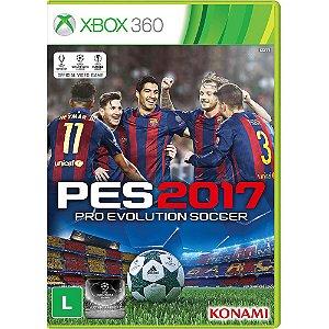 Pes 17 2017 Xbox 360 Pro Evolution Soccer Português