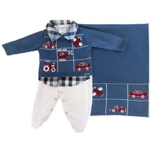 Saída Maternidade Cauê - Azul