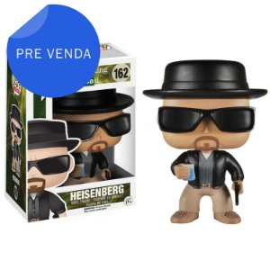 Boneco Funko Pop TV Breaking Bad Heisenberg [Raro]