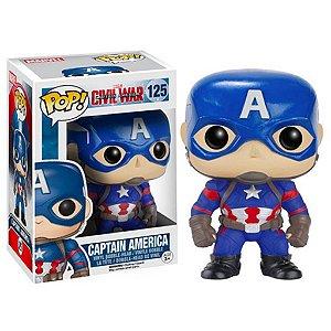 Boneco Funko Pop Marvel Civil War Capitão América