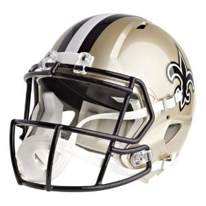 Mini Capacete Riddell NFL New Orleans Saints