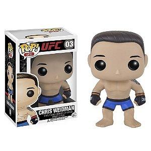 Boneco Funko Pop UFC Chris Weidman