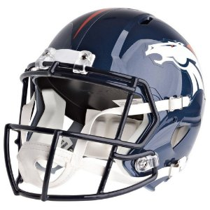 Mini Capacete Riddell NFL Denver Broncos