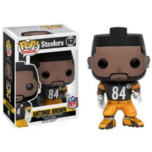 Boneco Funko Pop NFL Antonio Brown Wave 3