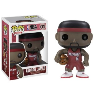 Boneco Funko Pop NBA Lebron James