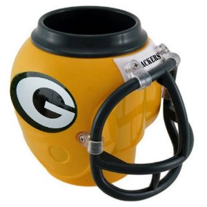 Copo Capacete NFL Green Bay Packers 400ml