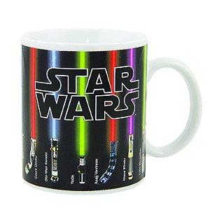 Caneca Star Wars Sabre de Luz 350ml