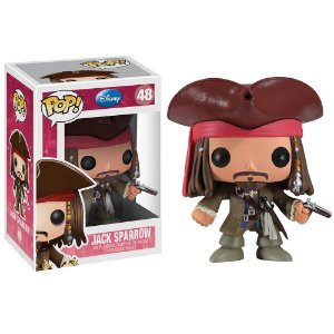 Boneco Funko Pop Movie Piratas do Caribe Jack Sparrow