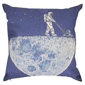 Almofada Astronauta e a Lua 45x45