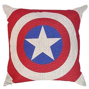 Almofada Escudo Capitão América 45x45