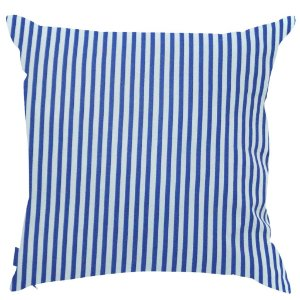 Almofada Azul Listrada 45x45