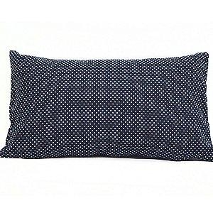 Almofada Azul Mini Bolinhas 30x50