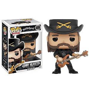 Boneco Funko Pop Rocks Motorhead Lemmy Kilmister